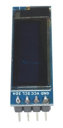 Display Oled Azul 128x32 Pixel 0.91 Polegadas I2c