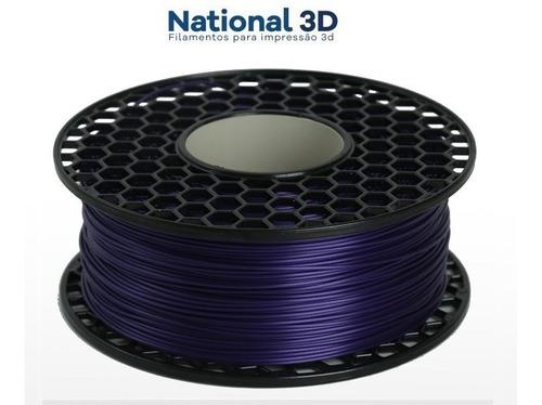 Filamento Pla Max   Violeta   1,75mm   1kg - Nacional 3d