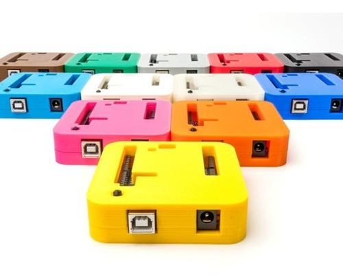 Gabinete Case Box para Arduino Uno Personalizado fieto em Impressora 3D