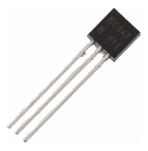 Transistor Bc547 B To-92, 30v Baixa Potência (Kit com 5 unidades)