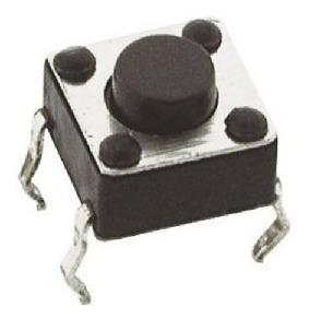 Botão Chave Microswitch Push Button 4 Pinos (Kit com 10 unidades)