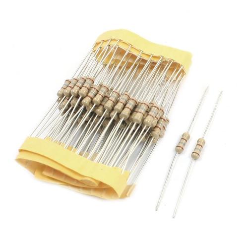 Resistor de 180 Ohm 180r 5% 1/4w 0,25w (Kit com 10 unidades)