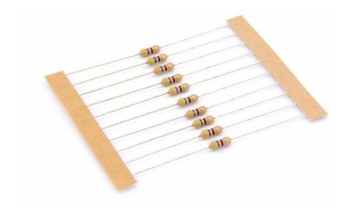 Resistor 220k Ohm 5% 1/4w 0,25w (Kit com 10 unidades)