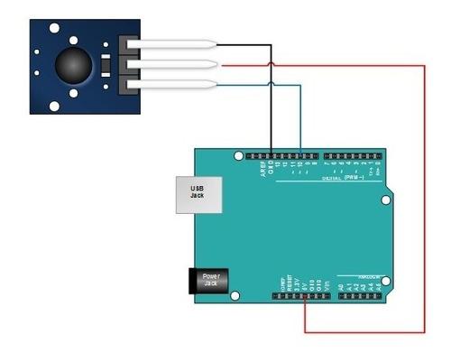 Sensor de Vibração Shock Ky-002