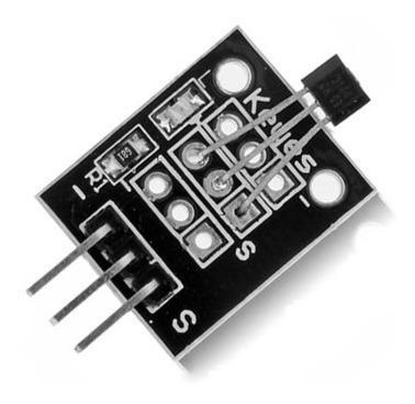 Sensor de Efeito Hall Magnetico Ky-003