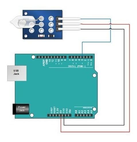 Sensor de Mercurio Ky-017 Tilt Switch