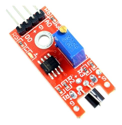 Ky-036 Sensor Toque Detecção De Metal