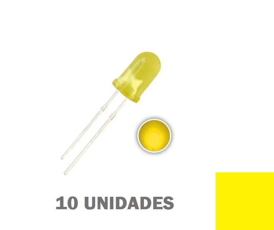 LED Difuso de 5mm (kit com 30 unidades)