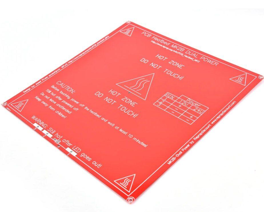 Mesa Aquecida (Hot Bed) FR4 Mk2B para Impressora 3D