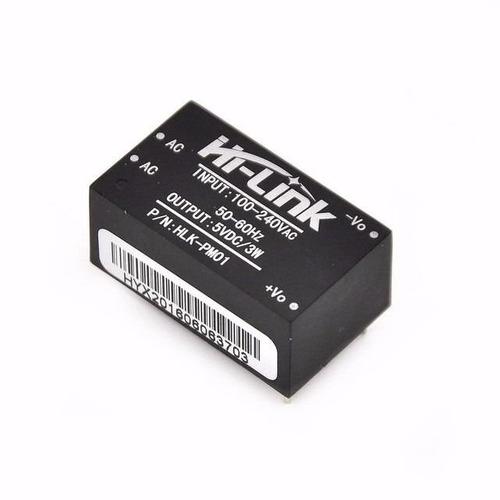 Mini Fonte Chaveada Hlk-pm01 100~240vac P/ 5V DC