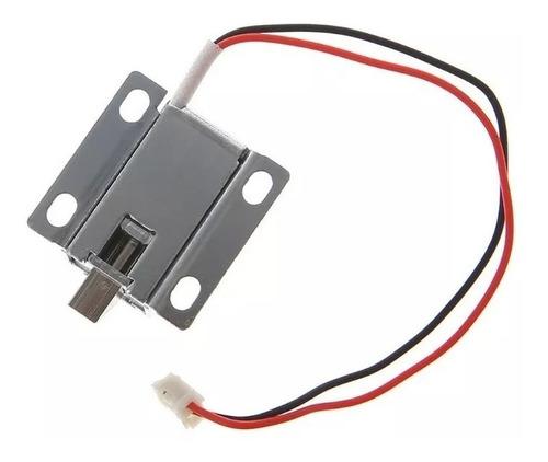 Mini Trava Elétrica Solenoide 12v Arduino Automação