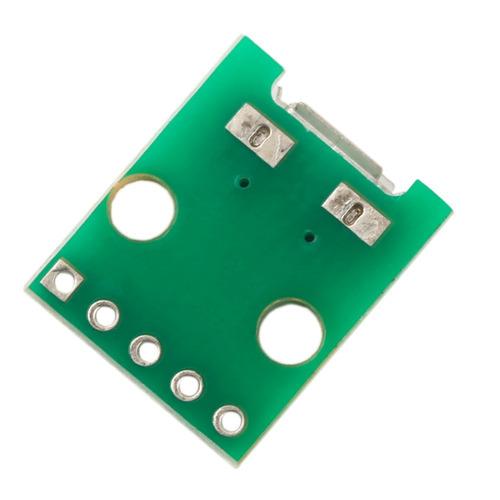 Módulo Adaptador Conector Micro Usb Femea