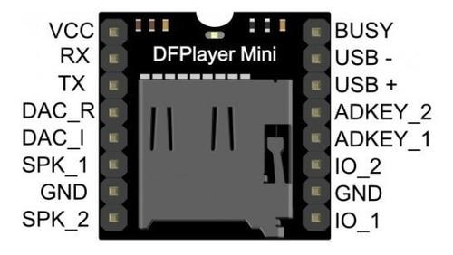 Modulo Dfplayer Mp3 Player Mini