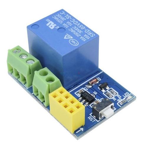 Relé Wi-fi Esp8266 com Adaptador para ESP-01 ESP-01s ESP01