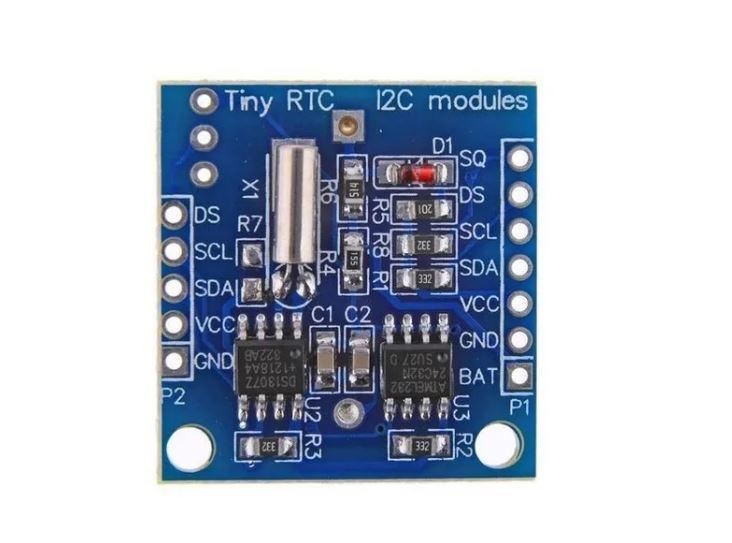 Modulo Relogio RTC DS1307 E AT24C32 Com Bateria