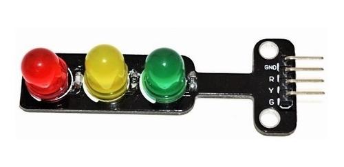 Modulo Semaforo Farol Sinal Transito com Led 8mm