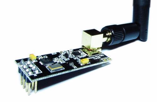 Módulo Transceptor Nrf24l01 + Pa + Lna Rf com Antena 2.4ghz e Alcance até 1km