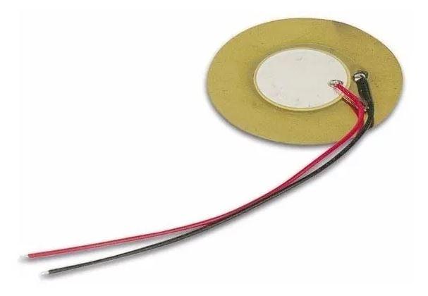 Pastilha Transdutor Piezo Elétrico Piezoelétrico de 35mm (2 unidades)