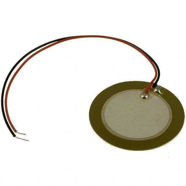 Pastilha Transdutor Piezo Elétrico Piezoelétrico de 35mm