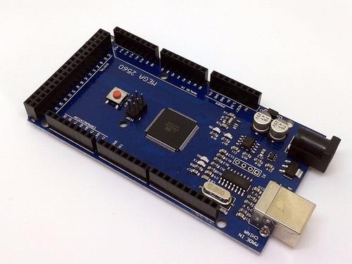 Placa Compatível Arduino Mega 2560 R3 Atmega Com Cabo Usb