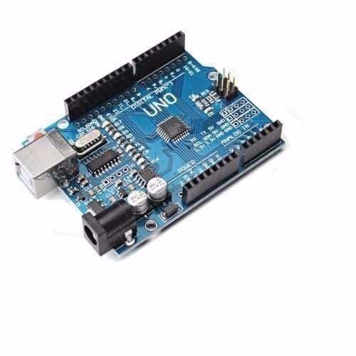 Placa Compatível Arduino Uno R3 Atmega328 Smd + Cabo
