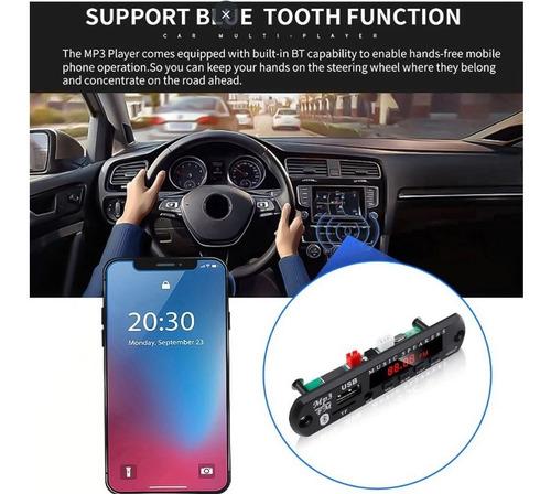 Placa Decodificador Módulo Mp3 Bluetooth Usb Aux Sd Caixa