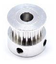 Polia Gt2 Passo 2mm para correia de 6mm 20 Dentes e Eixo 8mm