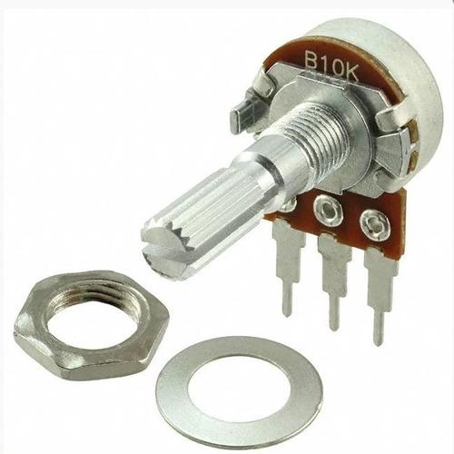 Potenciometro Linear 10k Mini B10k Wh148-1 16mm