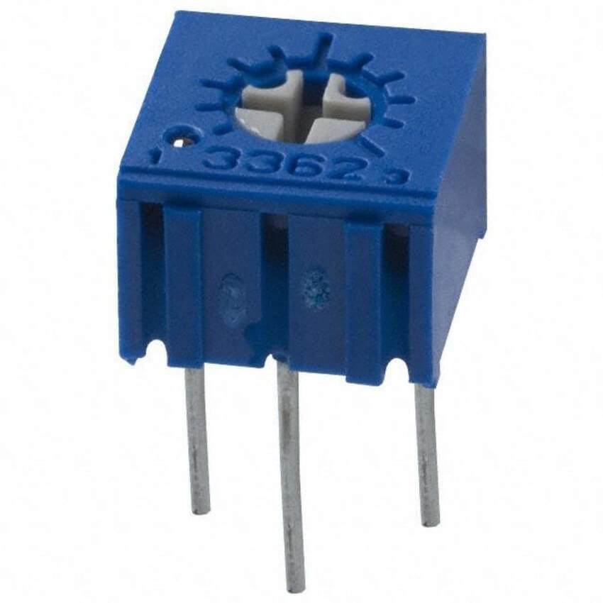 Potenciômetro Trimpot 10k 3362 (Kit com 5 unidades)