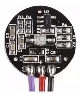 Sensor De Batimento Cardíaco Monitor Pulso Arduino Pic Arm