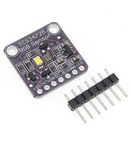 Sensor de Cor RGB TCS34725 CJMCU-34725 com Filtro IR
