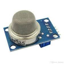 Sensor de Gás Mq-135 Mq135 para Amônia, Óxido Nítrico, Álcool, Benzeno, Dióxido de Carbono e Fumaça