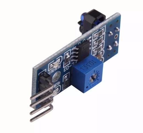 Sensor De Linha Segue Faixa Infravermelho Tcrt5000