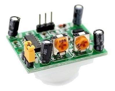 Sensor de Presença e Movimento PIR Hc-sr501 Hcsr501 Sr501