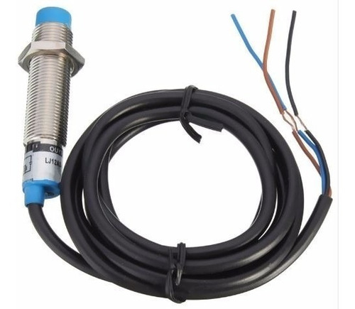 Sensor de Proximidade Indutivo M12 6-36vcc Npn 3 Fios Npn LJ12A3-4-Z/BX