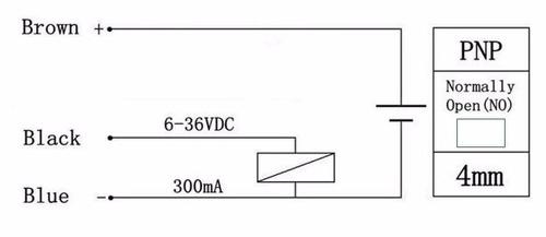 Sensor De Proximidade Indutivo M12 6-36vcc Pnp 3 Fios Pnp