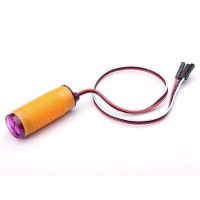 Sensor Infravermelho Reflexivo de 3 A 80 Cm E18-d80nk