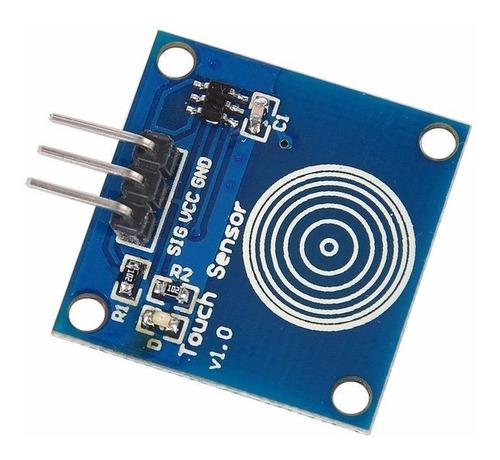 Botão de Toque Capacitivo Touch TTP223