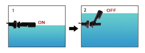 Sensor Nível Horizontal Água Interruptor Bóia Arduino Zpc4