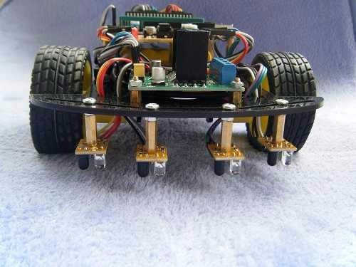 Sensor Segue Faixa Linha Obstáculo com 4 Vias Canais