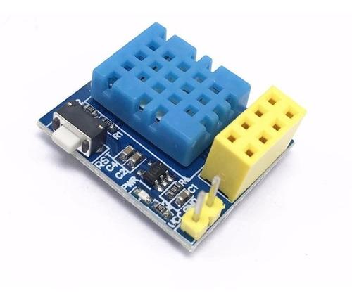 Sensor Temperatura Umidade Dht11 P/ Wi-fi Esp-01s Esp01s