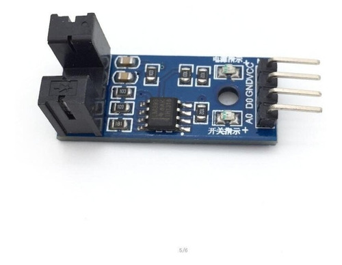 Sensor de Velocidade Encoder com Acoplador Óptico