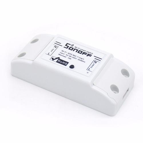 Sonoff Ac 90-220v 10a Interruptor Wifi Automação Residencial