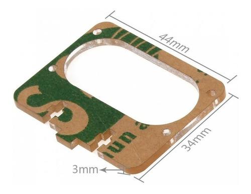 Suporte Acrilico Skin Sensor Ultrassônico Hc-sr04