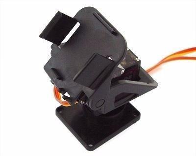Suporte Pan Tilt para Câmera Sensor Ultrassonico FPV (Sem servo)