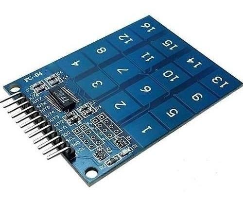 Teclado Toque Capacitivo Touch de 16 Teclas TTP229