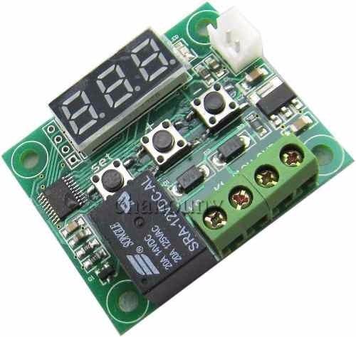 Termostato Digital W1209 com Rele 10A + Sensor de Temperatura
