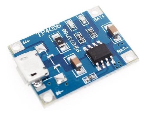 Carregador de Bateria de Litio Micro USB Tp4056 Tp-4056 TC4056a