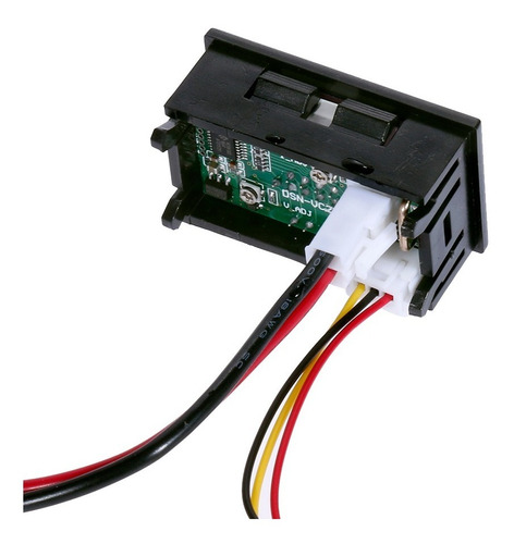 Voltímetro Amperímetro Digital Led Dc 100v 10a Azul Vermelho