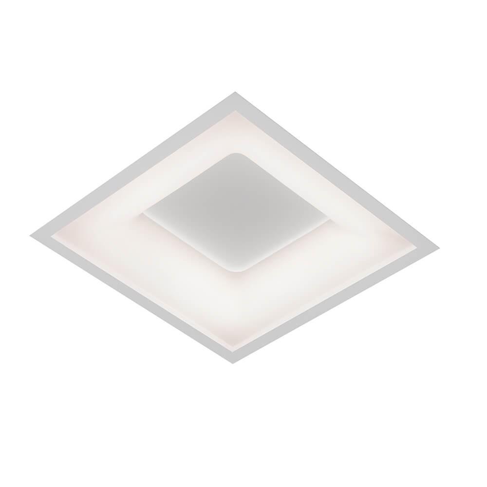 EMBUTIR NEW MASSU LED 33,6W 3000K 490X490X67MM 472LED3BT